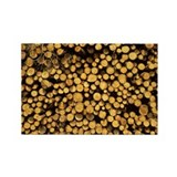 Logs - Rectangle Magnet (100 pk)
