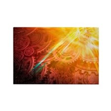 ceptual artwork - Rectangle Magnet (100 pk)