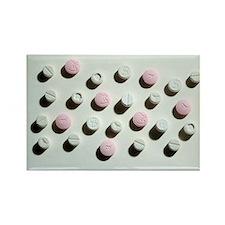 Ecstasy tablets - Rectangle Magnet (100 pk)