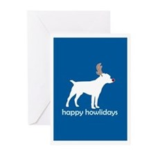 "Patterdale Terrier ""Happy How Greeting Cards (Pack"