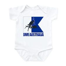 Dive Australia (blue) Body Suit