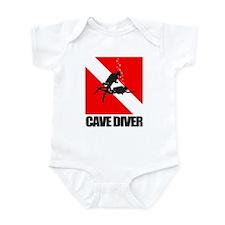 Cave Diver (blk) Body Suit
