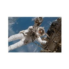 rforming spacewalk - Rectangle Magnet (100 pk)