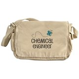 Cute Chemical engineer Messenger Bag