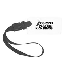 Kick Brass Luggage Tag