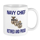Retired Navy Master Chief Petty Officer