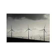 Wind turbines - Rectangle Magnet (100 pk)