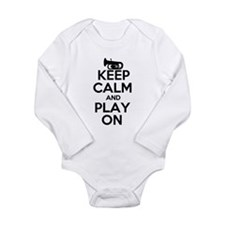 Keep Calm and Play On Tuba Body Suit