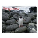Penguins Wall Calendar