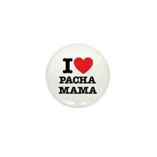 i love pachamama Mini Button (100 pack)