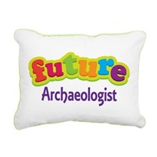 Future Archaeologist Rectangular Canvas Pillow