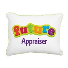 Future Appraiser Rectangular Canvas Pillow