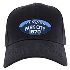 Park City Blue Baseball Hat