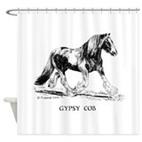 Gypsy Cob Shower Curtain