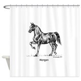 Morgan Horse Shower Curtain