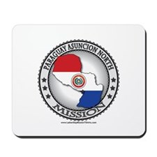 Paraguay Asuncion North LDS Mission Flag Cutout Mo