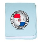 Paraguay Asuncion North LDS Mission Flag Cutout ba