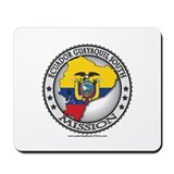 Ecuador Guayaquil South LDS Mission Flag Cutout Mo