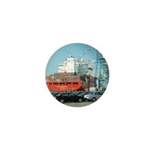 Container ship - Mini Button (10 pk)