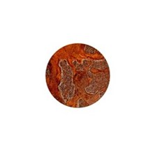 Rust seen on a steel sheet - Mini Button (10 pk)