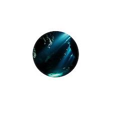 Underwater cave - Mini Button (100 pk)
