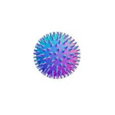 Virus, computer artwork - Mini Button (100 pk)