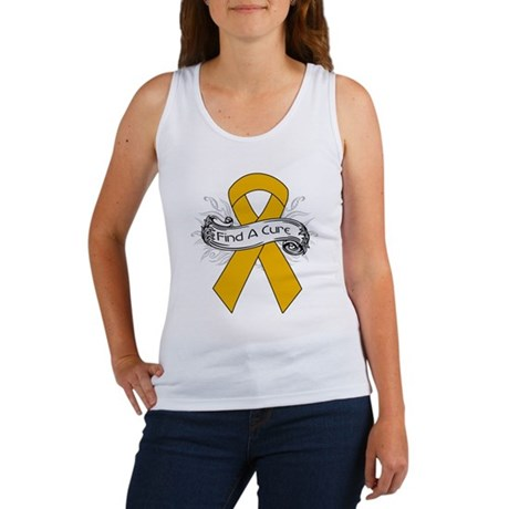 Appendix Cancer Find A Cure Women's Tank Top