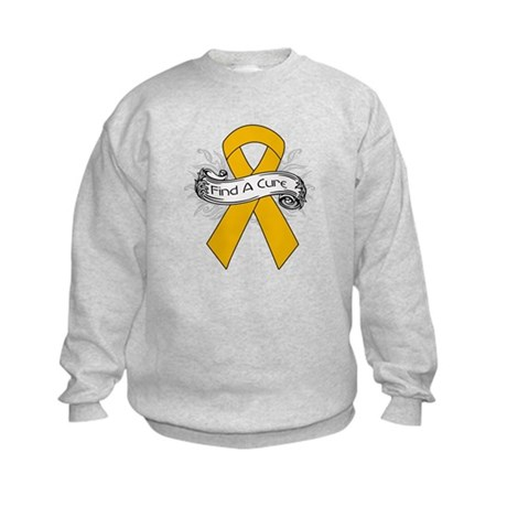 Appendix Cancer Find A Cure Kids Sweatshirt