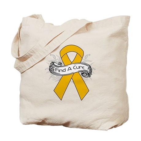 Appendix Cancer Find A Cure Tote Bag