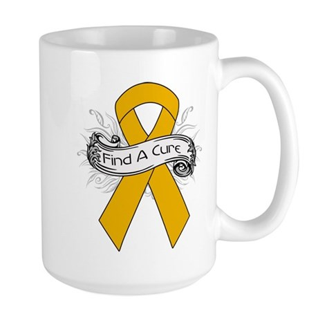 Appendix Cancer Find A Cure Large Mug