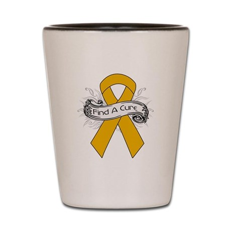 Appendix Cancer Find A Cure Shot Glass