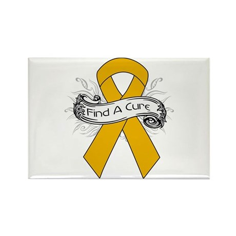 Appendix Cancer Find A Cure Rectangle Magnet