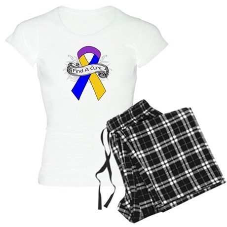 Bladder Cancer Find A Cure Women's Light Pajamas