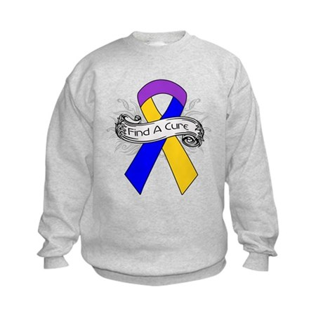 Bladder Cancer Find A Cure Kids Sweatshirt