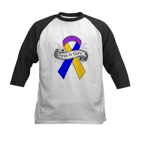 Bladder Cancer Find A Cure Kids Baseball Jersey