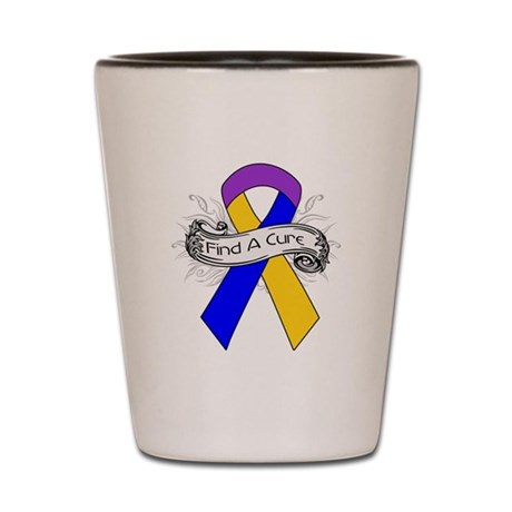 Bladder Cancer Find A Cure Shot Glass