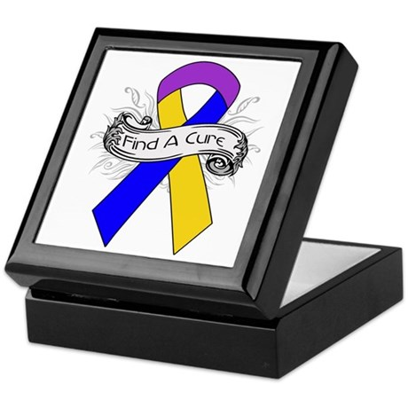Bladder Cancer Find A Cure Keepsake Box