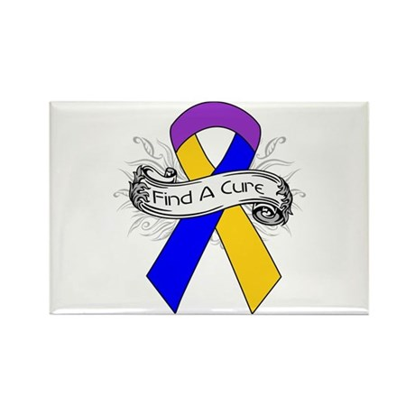 Bladder Cancer Find A Cure Rectangle Magnet