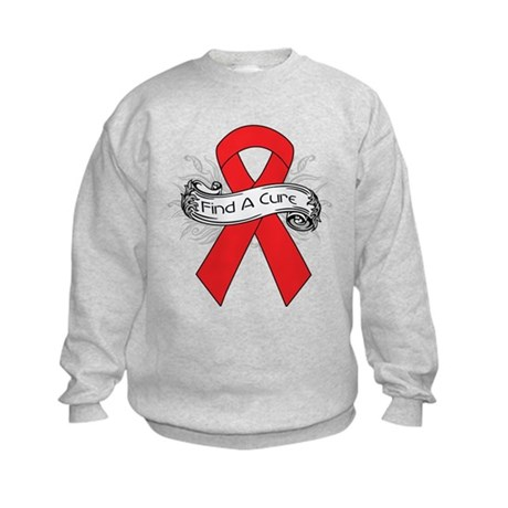 Blood Cancer Find A Cure Kids Sweatshirt
