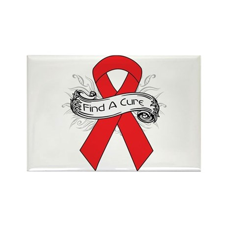 Blood Cancer Find A Cure Rectangle Magnet