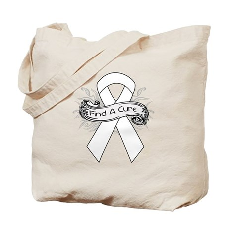 Bone Cancer Find A Cure Tote Bag