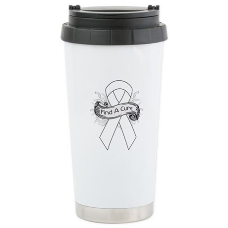 Bone Cancer Find A Cure Ceramic Travel Mug