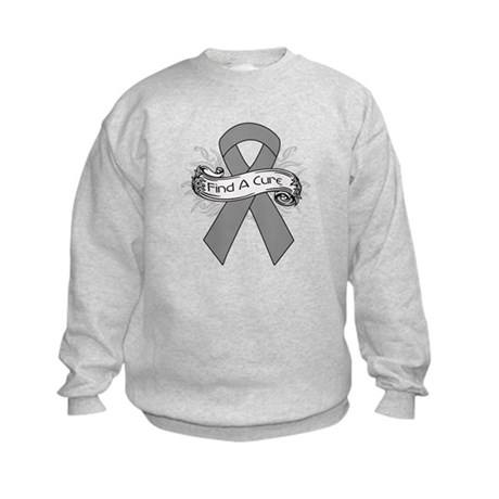 Brain Cancer Find A Cure Kids Sweatshirt