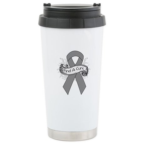 Brain Cancer Find A Cure Ceramic Travel Mug