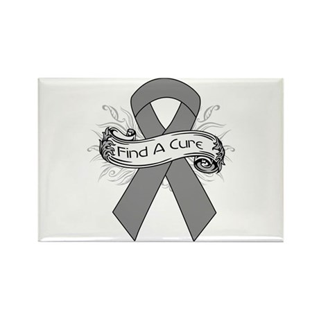 Brain Cancer Find A Cure Rectangle Magnet