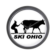 The Ski Ohio Shop Wall Clock