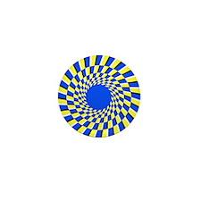 Peripheral drift illusion - Mini Button (100 pk)