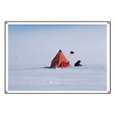 Antarctic field camp - Banner