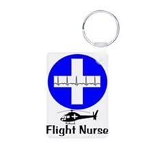 flight nurse 2013 blie lights Keychains