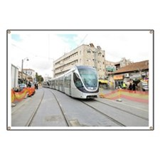 Jerusalem mass transport Light Train - Banner